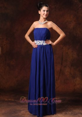 2013 New Arrival Blue Prom dresses Appliques