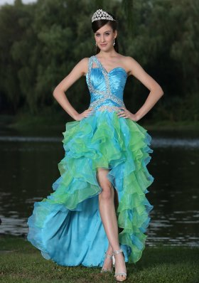 Colorful Prom Dresses  Ombre Evening Gowns  Multi Colored Dresses