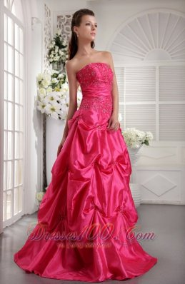 2019 Hot Pink Prom Dresses