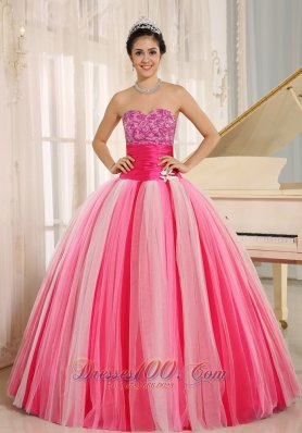 Colorful Quinceanera Gowns for Gilrs With Handmade Flowers