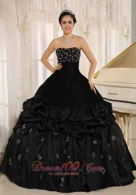 Black Quinceanera Dresses,Quinceanera Gowns in Black Color