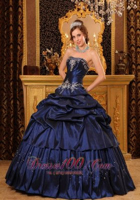 Navy Quinceanera Dresses,Dark Blue Sweet 16 Dresses