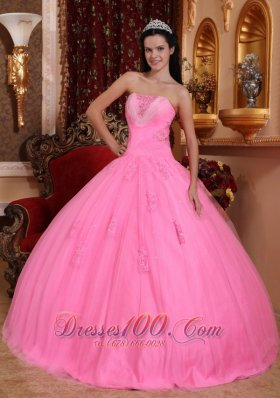 Pink Quinceanera Dresses, Pink Quinceanera Gowns