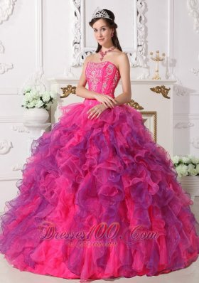 Coloful Beading Decorate Quincenera Dresses Best Seller