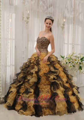 Unique Colorful Sweetheart Quinceanera Gowns 2012