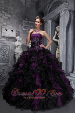 Unique Dark Grape Purple Quinceanera Dresses Affordable