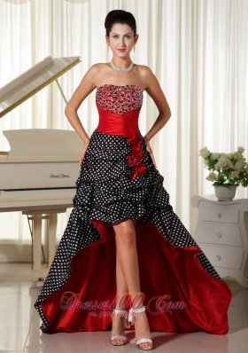 Black And Red Homecoming Dresses