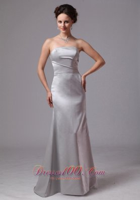 Customize Silver Brush Mother Of The Bride Dress