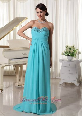 Under 150 Brush Aqua Blue Dress for Prom