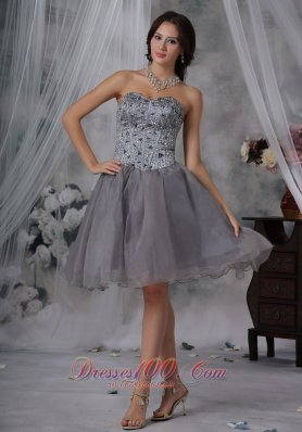 Prom / Homecoming Dress Beaded Decorate Up Bodice