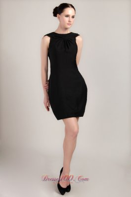 Elegant Cocktail Dress Bateau neckline Mini-length