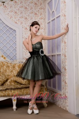 Tulle Homecoming Dress Princess Sweetheart Mini-length