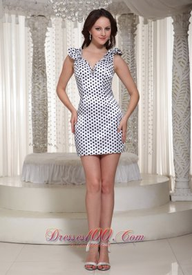 Homecoming Dress Special Fabric V-neck On Sale