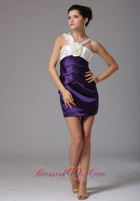 V-neck Sweet Prom Floral Homecoming Dress