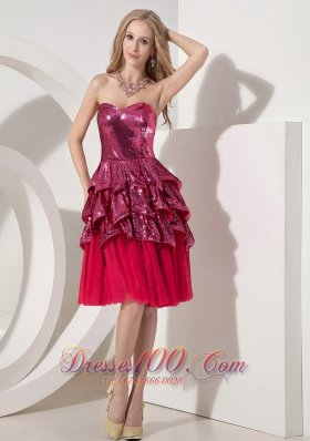 Discount Hot Pink Evening Dresses
