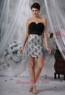 Cocktail Dress Beading Ruched Lace Mini-length Sweetheart