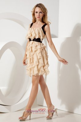 Purple Straps Ruch Short Homecoming Dress Mini-length Lace