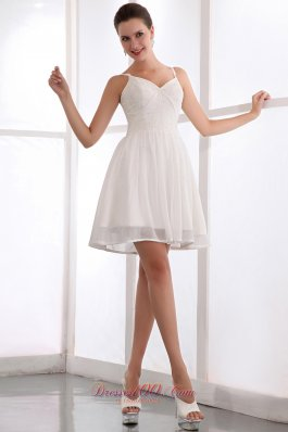Cheap white dama dresses