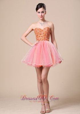 Sweetheart Custom Made Prom Holiday Dress with Beading