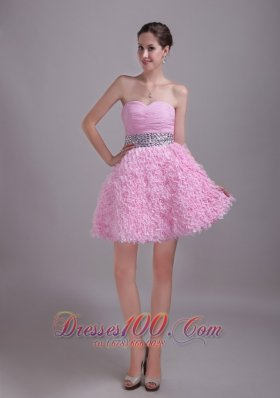 Lace Sweetheart Rhinestone Graduation Homecoming Dress