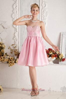 Short Prom Holiday Dress Beading A-line Knee-length