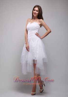 Princess Lace and Tulle Ruch Prom / Homecoming Dress