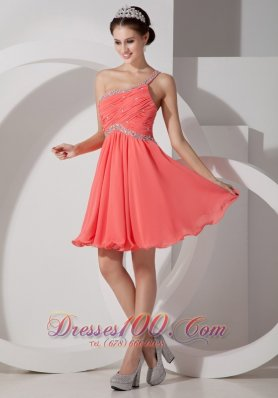 Related Keywords & Suggestions for One Shoulder Homecoming Dresses ...