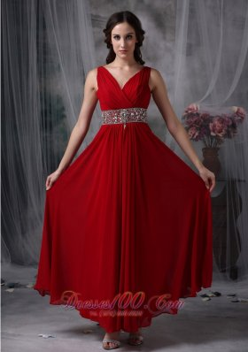 Wine Red Party Dresses