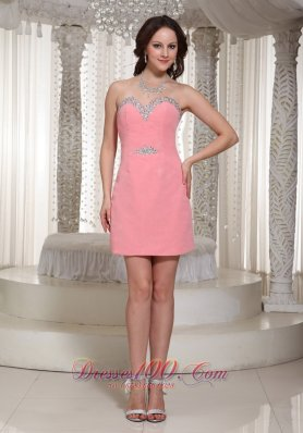 Watermelon Sequin Homecoming Dress For Formal 2013