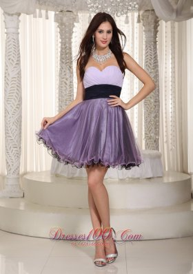 Mini-length Graduation Prom Graduation Dress 2013 Organza ruched