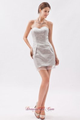 Sheath Sweetheart Sequins Mini-length Cocktail Dress for Prom
