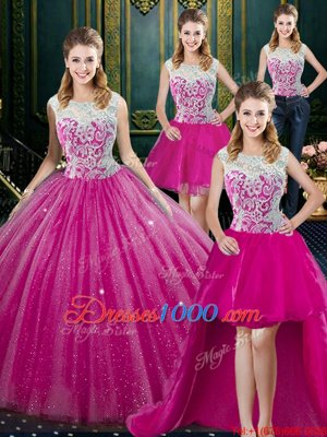 Cheap Floor Length Zipper Quinceanera Gown Orange Red and In for Military Ball and Sweet 16 and Quinceanera with Lace