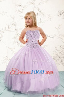 Attractive Ball Gowns Little Girls Pageant Dress Black and Hot Pink Straps Organza Sleeveless Floor Length Lace Up