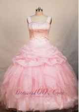 Pageant Dress Pretty Straps Pick-ups Baby Pink
