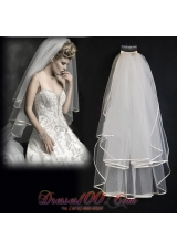 Pretty Two-tier Tulle Wedding Veil for Popular