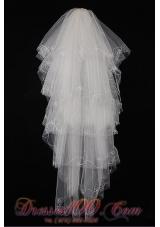 Best Fingertip Veil for Wedding Tulle Layers