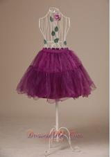 Fuchsia Mini-length Petticoat for cute
