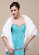 Open Front for High Quality Wedding shawl