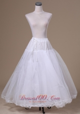 Perfect Organza Petticoat for Girls Ankle-length