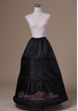 Organza Black Petticoat for Popular Floor-length