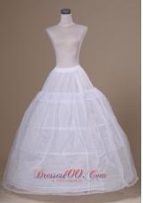 Tulle and Organza Floor-length Wedding Petticoat