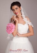 Wedding Bouquet for Bride Spherical in Pink