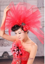 Beading Net Bridal Hat For Headpieces Tulle
