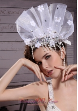 Rhinestone Hair Comb White for Quinceanera