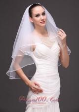 Wedding Veil 2013 Ribbon Edge two tiered