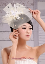 Printed Imitation Pearl Wedding Headpiece