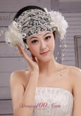 Beautiful Lace Hat Hair Bridal Headpiece
