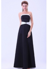 Little Black For Bridesmaid Dresses A-line Sashed