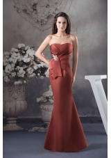 Brand New Appliques Mermaid / Trumpet Long Strapless Prom Dress
