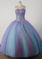 Beautiful Ball Gown Sweetheart Floor-length Quincenera Dresses